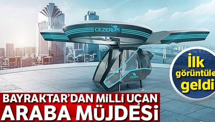 Selçuk Bayraktar açıkladı! 'Türkiye'nin ilk 'milli uçan arabası' için hazırlıklar başladı