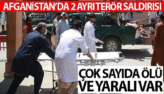 Afganistan'da 2 ayrı terör saldırısı: Toplam 37 ölü