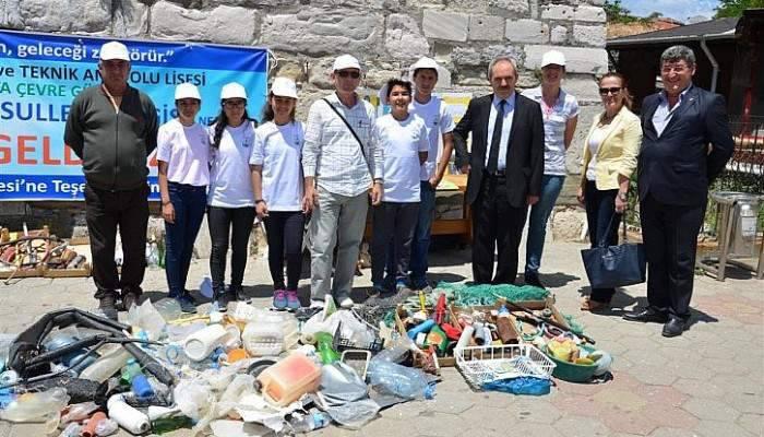 'DENİZ MAHSULLERİ SERGİSİ' GELİBOLU'DA AÇILDI