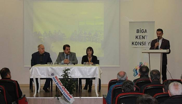 Biga Kent Konseyi, 1. Genel Kurul toplantısı gerçekleştirdi.