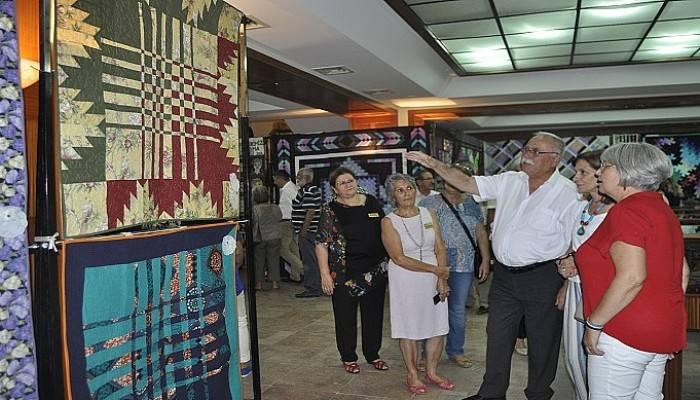 Kırkyamanın ürünleri Çanakkale Evi'nde görücüye çıktı