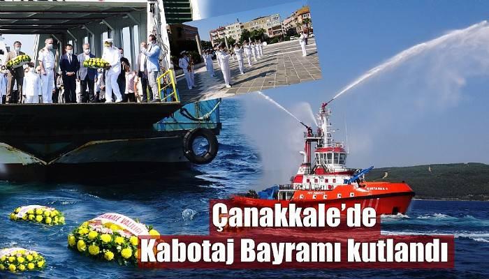 Çanakkale'de Kabotaj Bayramı kutlandı (VİDEO)