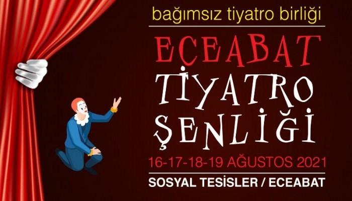 Eceabat Tiyatro Şenliği başliyor