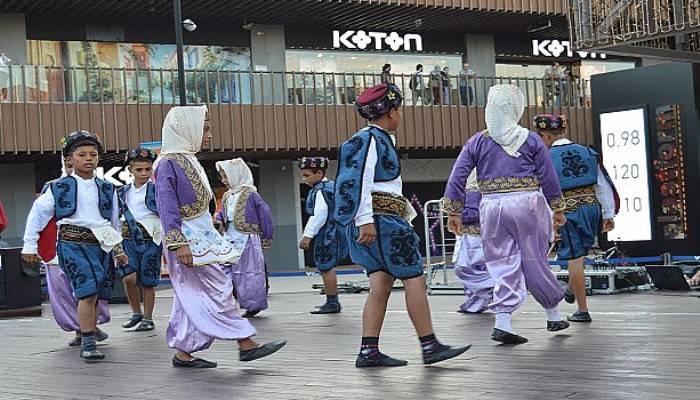 MİÇO'lar yeteneklerini 17 Burda AVM'de sergiledi