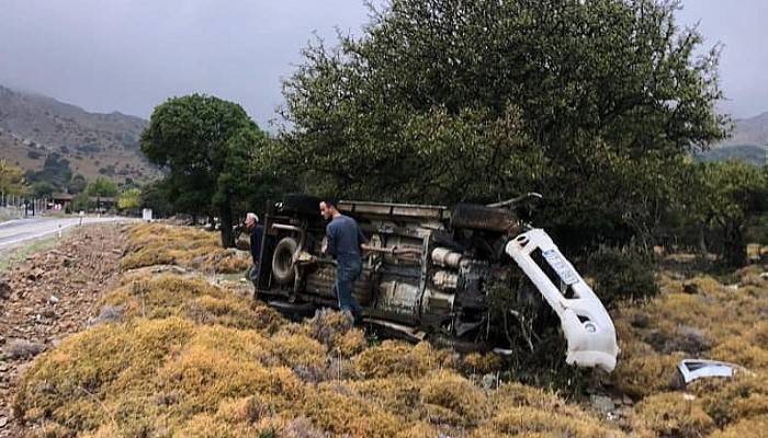 Ak Parti Gökçeada İlçe Başkanı kaza geçirdi