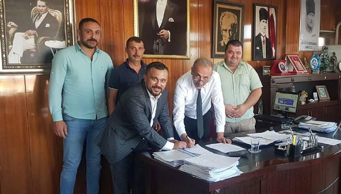 Eceabat Belediyesinde toplu sözleşme imzalandı