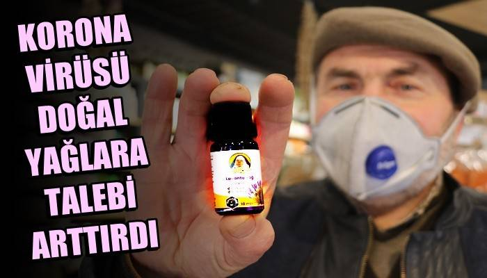Koronavirüse karşı lavanta yağına talep yüzde 200 arttı (VİDEO)