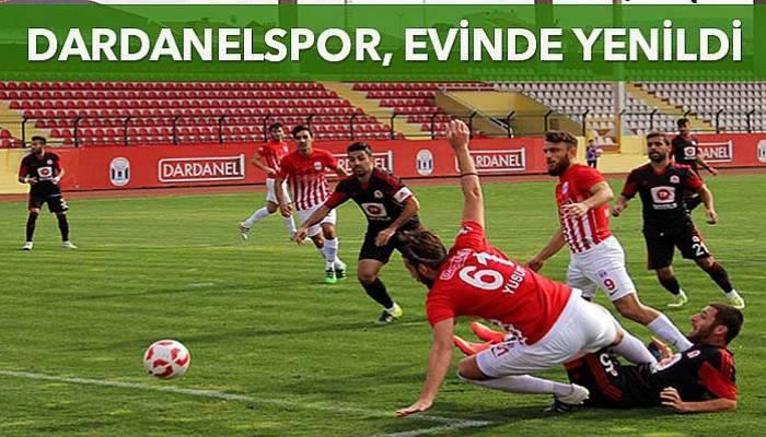 Dardanelspor, evinde yenildi