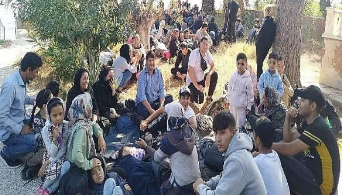 Çanakkale'de 1057 kaçak göçmen yakalandı,1 organizatör tutuklandı