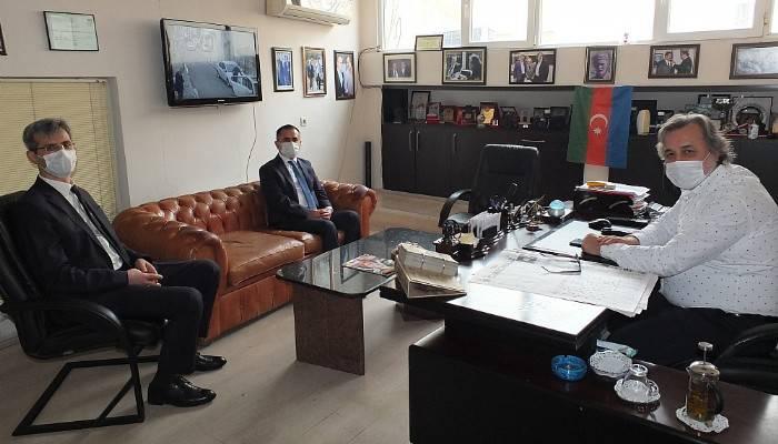 Vali Aktaş'tan Boğaz Medya'ya ziyaret
