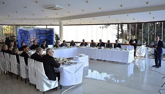 Rektör Acer, Çanakkale protokolüne ÇOMÜ'yü Anlattı