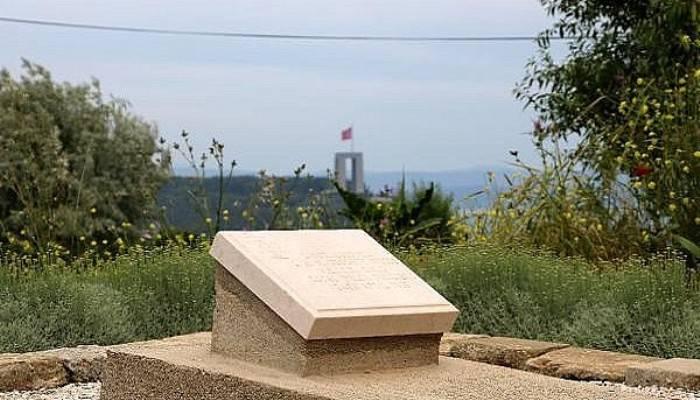 Gelibolu Yarımadası'nda, 'Türk dostu' İngiliz subay mezarı (VİDEO)
