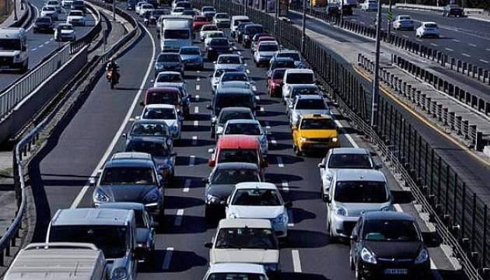 İşte, Çanakkale'deki araç sayısı!