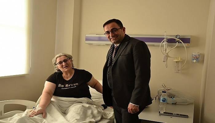 Bülent Erdoğan Özel Biga Can Hastanesini Ziyaret Etti