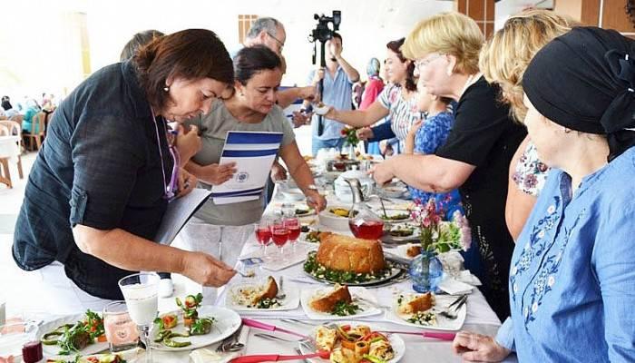 Biga'da yemek yarışması heyecanı