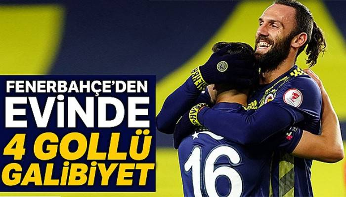 Fenerbahçe 4 - 0 İstanbulspor