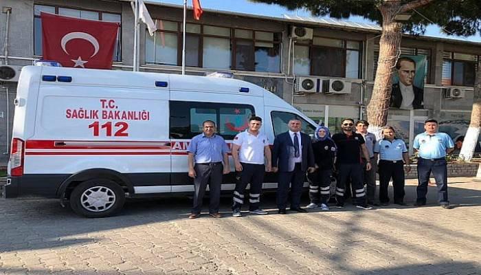 Geyikli'ye 112 Acil Ambulans İstasyonu kuruldu