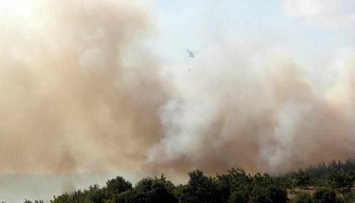 Keşan'da orman yangını! Çanakkale'den söndürme ekipleri gönderildi