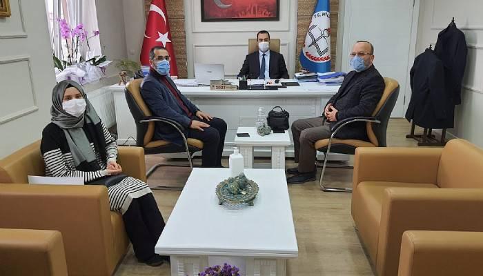 Çanakkale Anadolu İmam Hatip Lisesi, İl Milli Eğitim Müdürü Yılmaz'ı Ziyaret Etti