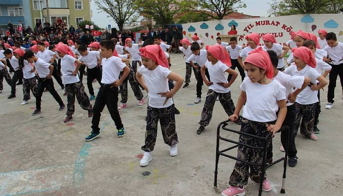 Çan'da 23 Nisan kutlamaları