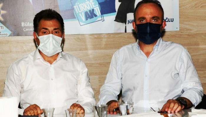 AK Parti'li Turan: 'Milletimizden aldığımız güçle Türkiye'yi büyütmeye devam edeceğiz'