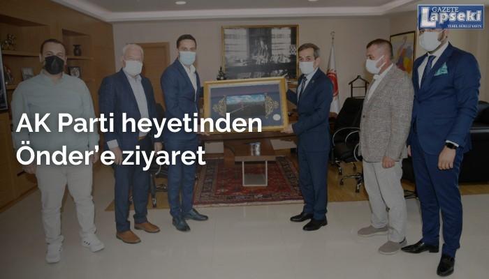 AK Parti heyetinden Önder'e ziyaret