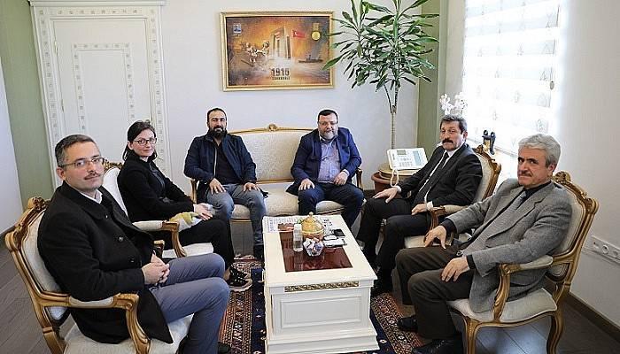 Vali Orhan Tavlı, Sivil Toplum Kuruluşlarını Kabul Etti