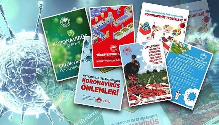 Tarım ve Orman Bakanlığından Covid-19'a Karşı Bigilendirme Broşürü