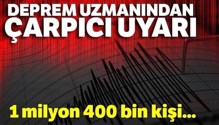 İzmir depremiyle ilgili o felaket senaryosunu hatırlattı, tekrar uyardı