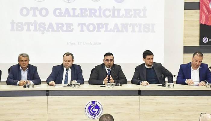 OTO GALERİCİLER İSTİŞARE TOPLANTISI YAPILDI