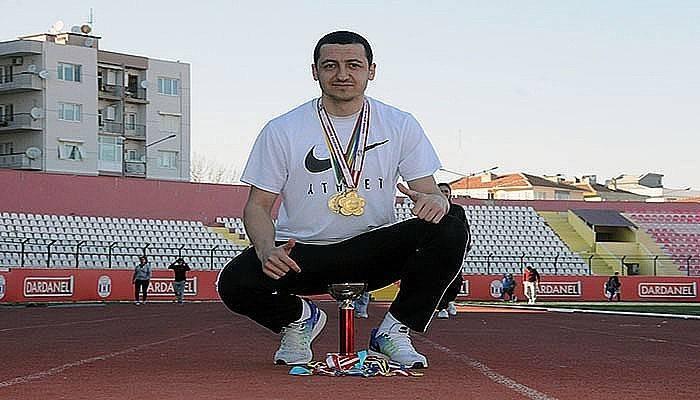 Serdar Tamaç,10 yılda 237 madalya, 43 kupa kazandı