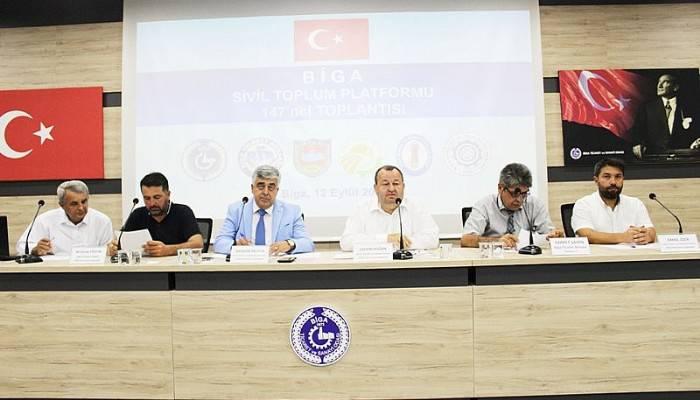 """""""BİGA'NIN GELECEĞİ İÇİN HEP BİRLİKTE ÇALIŞMALIYIZ"""""""
