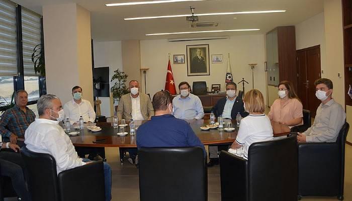 CHP milletvekillerinden ÇTSO ziyareti