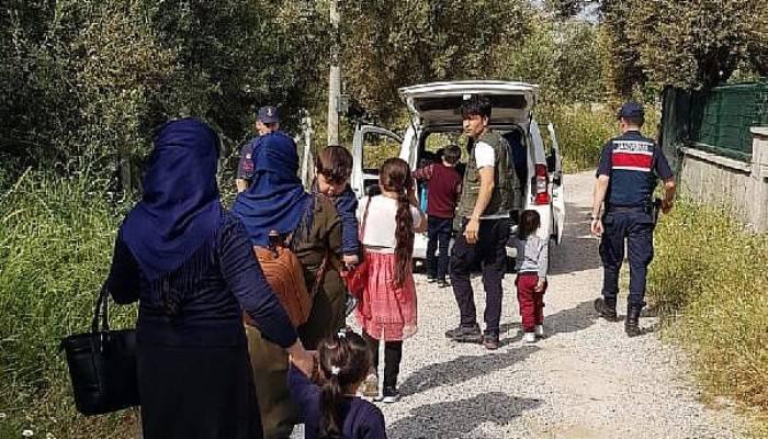 Çanakkale'de 13 kaçak göçmen yakalandı