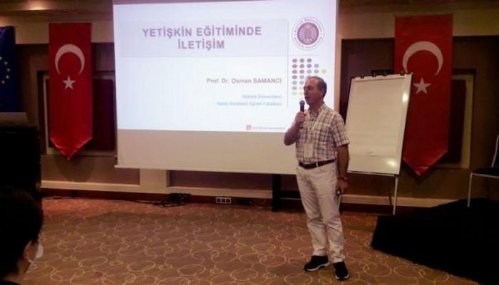 Avrupa Yetişkin Öğrenimi Gündemi - 5 projesi Marmara Bölge Eğitimi toplantısı