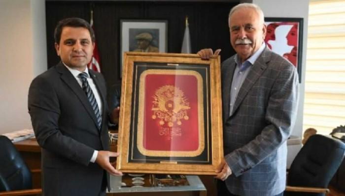 Tarihi Alan Başkanı Kaşdemir'den Başkan Gökhan'a Ziyaret