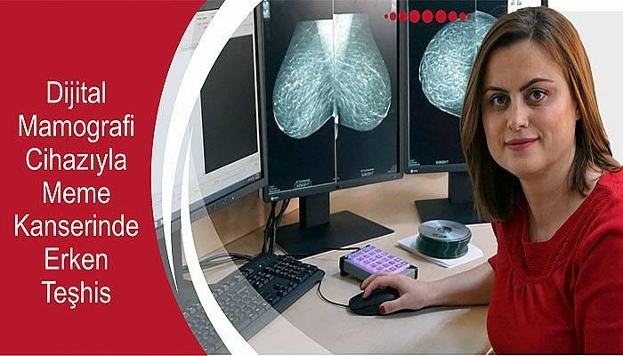 ÇOMÜ'ye Yeni Dijital Mamografi Cihazı