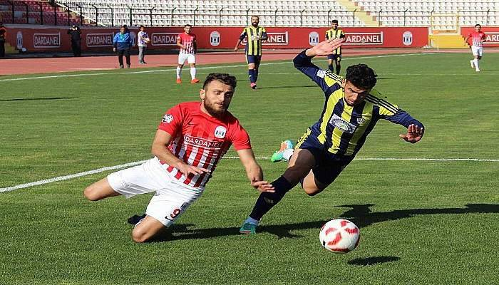 Dardanelspor: 2 - Kırıkhanspor: 2