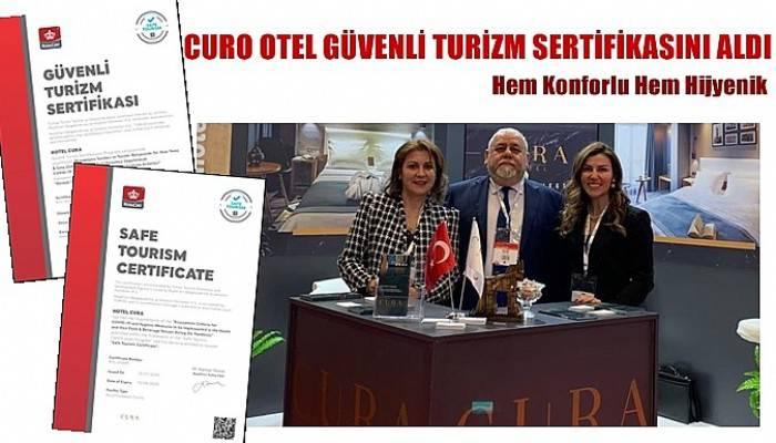 CURO OTEL GÜVENLİ TURİZM SERTİFİKASINI ALDI