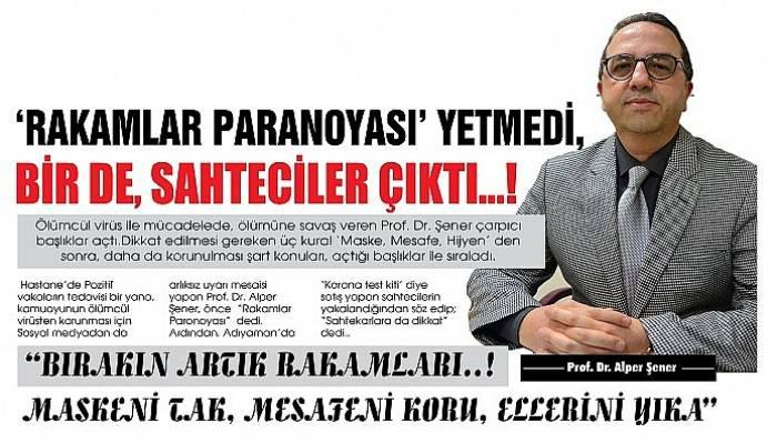 'RAKAMLAR PARANOYASI' YETMEDİ, BİR DE, SAHTECİLER ÇIKTI…!