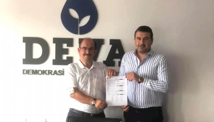 Emekli diplomat Davut Gazi Benli Deva Partisi'ne üye oldu