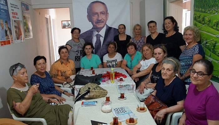 CHP Kadın Kolları genişletilmiş dayanışma toplantısı yapıldı
