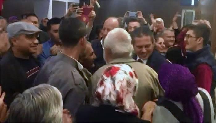 AK Parti'de Yıldız'a görkemli karşılama (VİDEO)