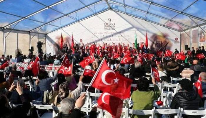 GELİBOLU'NUN TAHLİYESİNİN 104'ÜNCÜ YILI İÇİN TÖREN