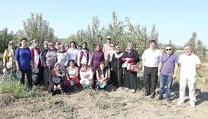 Tokat'lı kadın çiftçiler Çanakkale'de