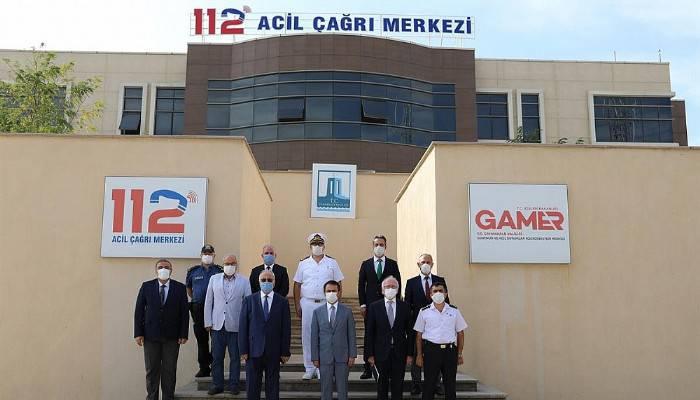 112 Acil Çağrı Hizmetleri İl Koordinasyon Komisyonu Toplandı
