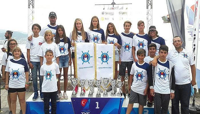 İÇDAŞ'lı sporcular 6 kupa kaldırdı