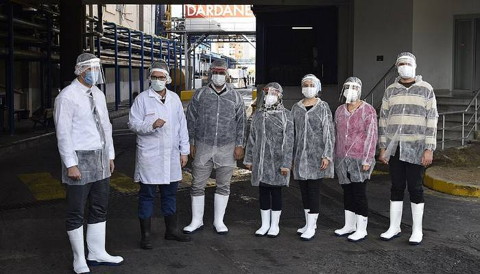İş ve Meslek Danışmanları Dardanel Fabrikasında