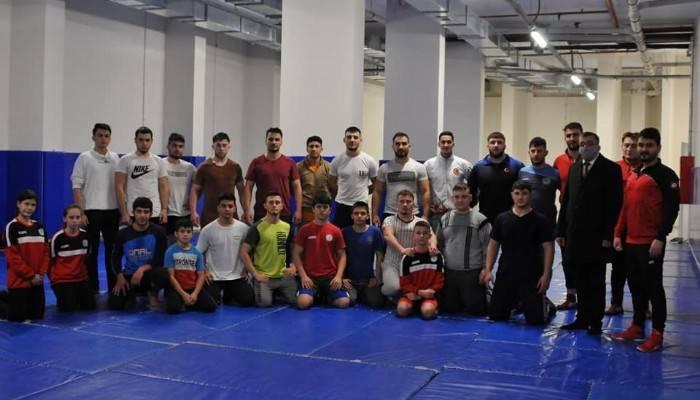 Çan Belediyesi Güreş Kulübünde ilk