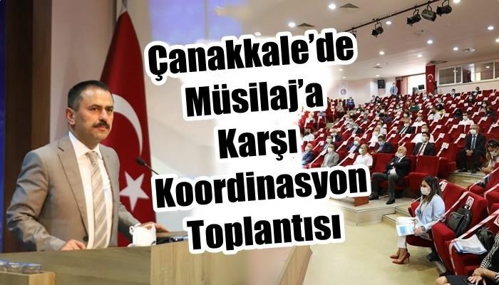 Çanakkale'de Müsilaj'a Karşı Koordinasyon Toplantısı